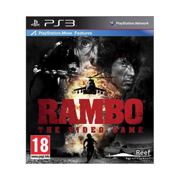 Rambo: The Video Game [PS3] - BAZÁR (použitý tovar)
