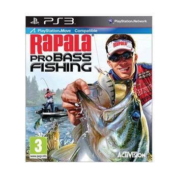 Rapala Pro Bass Fishing [PS3] - BAZÁR (použitý tovar)
