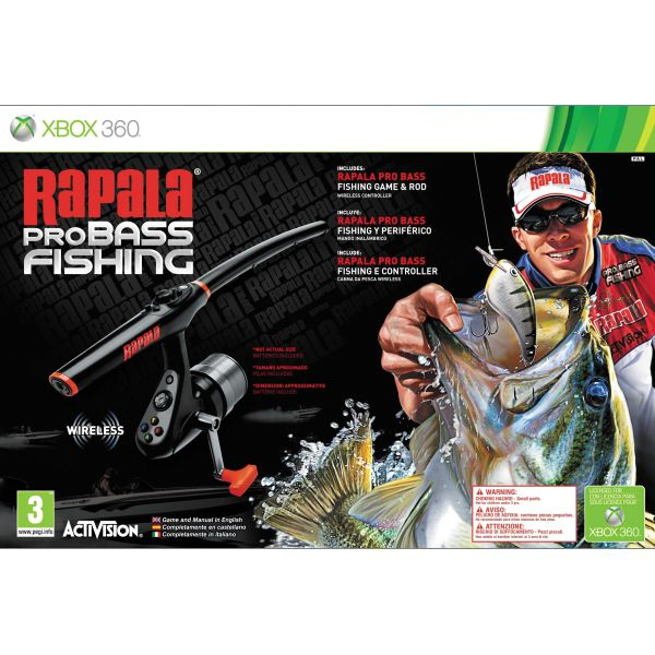 Rapala Pro Bass Fishing + udica