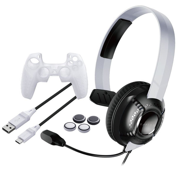 Raptor Gaming SK100 Starter kit for PS5, white