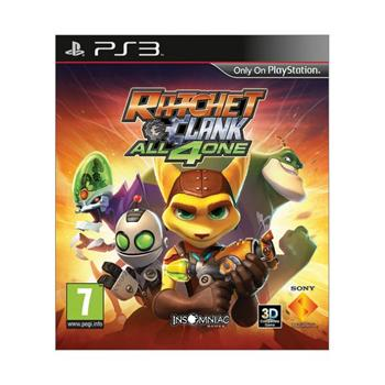 Ratchet & Clank: All 4 One-PS3 - BAZÁR (použitý tovar)
