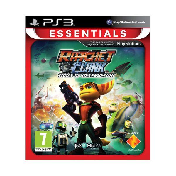 Ratchet & Clank: Tools of Destruction -PS3 - BAZÁR (použitý tovar)
