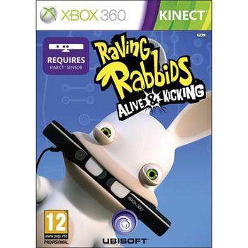 Raving Rabbids: Alive & Kicking [XBOX 360] - BAZÁR (použitý tovar)