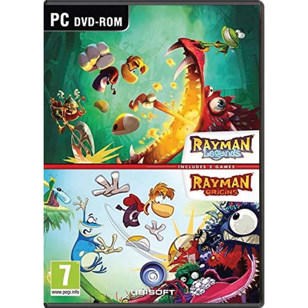 Rayman Legends and Rayman Origins Double Pack