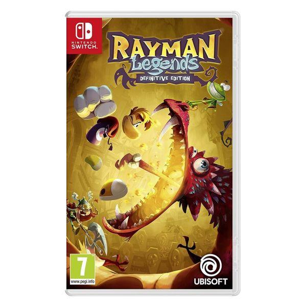 Rayman Legends (Definitive Edition) [NSW] - BAZÁR (použitý tovar)