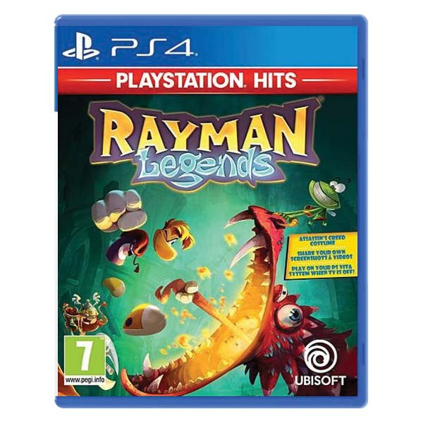 Rayman Legends [PS4] - BAZÁR (použitý tovar)