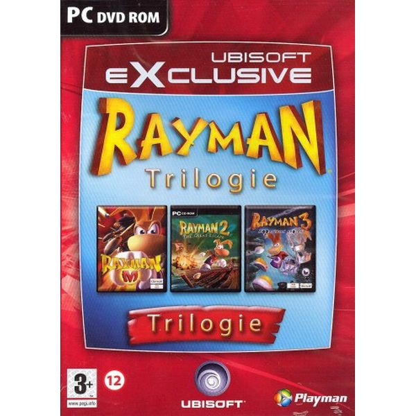 Rayman Trilógia CZ
