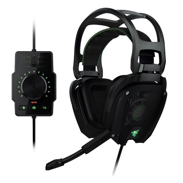 Razer Tiamat Elite 7.1 Surround Sound Analog Gaming Headset