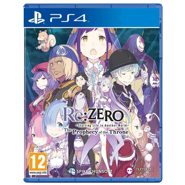Re:ZERO - Starting Life in Another World: The Prophecy of the Throne PS4