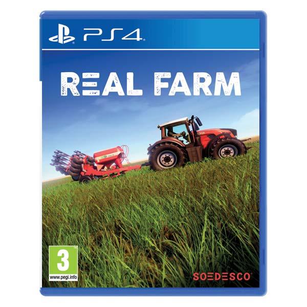 Real Farm CZ [PS4] - BAZÁR (použitý tovar)