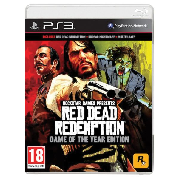 Red Dead Redemption (Game of the Year Edition)-PS3 - BAZ�R (pou�it� tovar)
