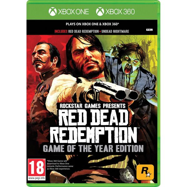 Red Dead Redemption (Game of the Year Edition) XBOX 360