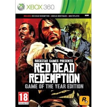 Red Dead Redemption (Game of the Year Edition) [XBOX 360] - BAZ�R (pou�it� tovar)