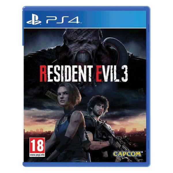 Resident Evil 3 [PS4] - BAZÁR (použitý tovar)