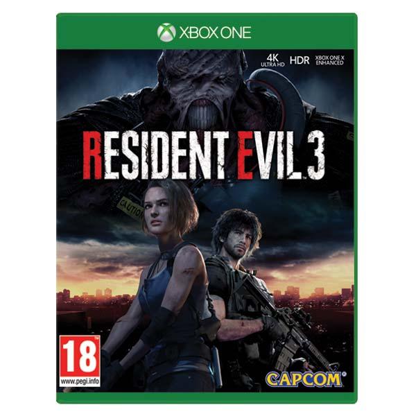 Resident Evil 3 [XBOX ONE] - BAZÁR (použitý tovar)