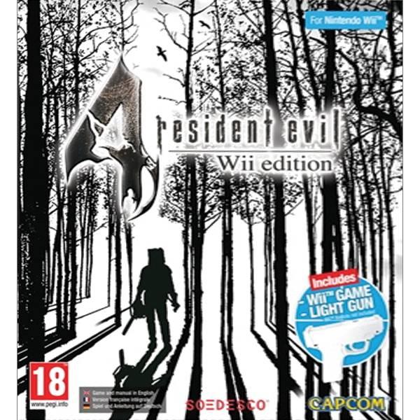 Resident Evil 4 (Wii Edition) + Wii Game Light Gun