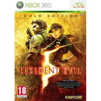 Resident Evil 5 (Gold Edition) [XBOX 360] - BAZÁR (použitý tovar)