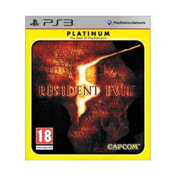 Resident Evil 5-PS3 - BAZÁR (použitý tovar)