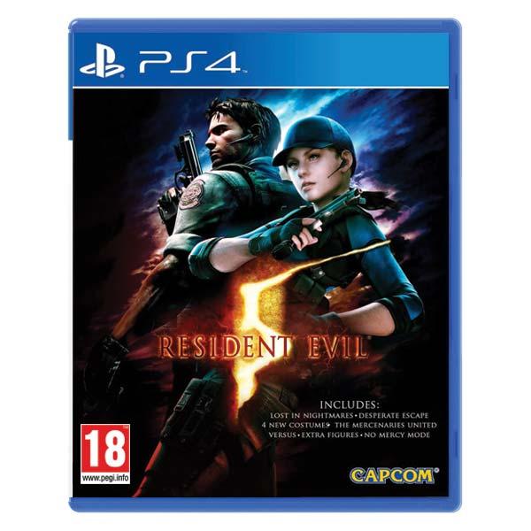 Resident Evil 5 [PS4] - BAZÁR (použitý tovar)