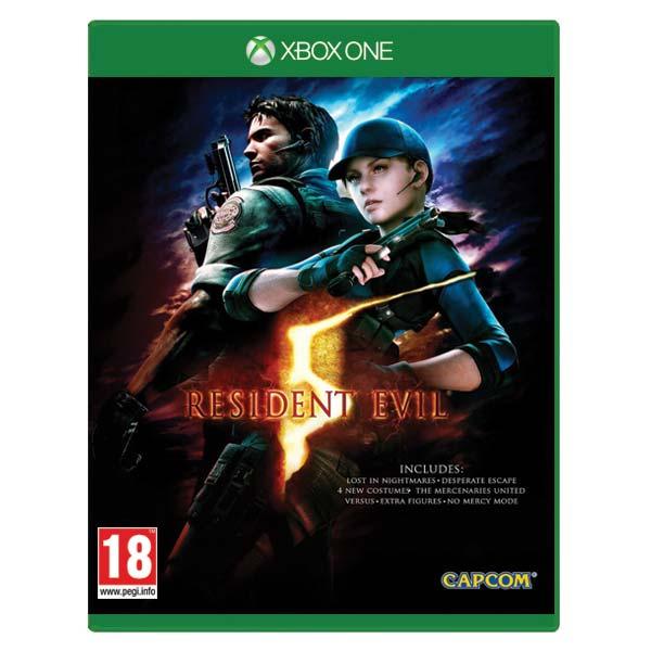 Resident Evil 5 [XBOX ONE] - BAZÁR (použitý tovar)