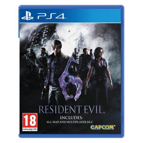 Resident Evil 6 [PS4] - BAZÁR (použitý tovar)