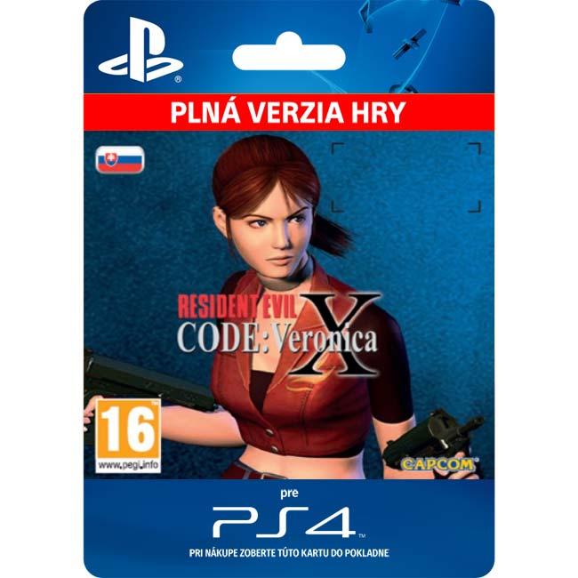 Resident Evil Code: Veronica X (SK)