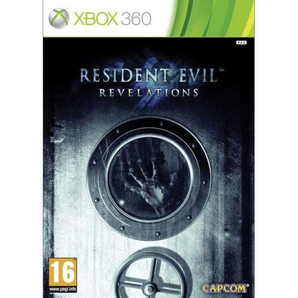 Resident Evil: Revelations [XBOX 360] - BAZÁR (použitý tovar)