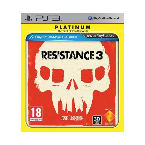 Resistance 3-PS3 - BAZÁR (použitý tovar)