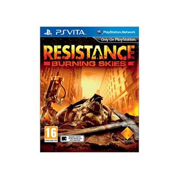 Resistance: Burning Skies-PSVITA - BAZ�R (pou�it� tovar)