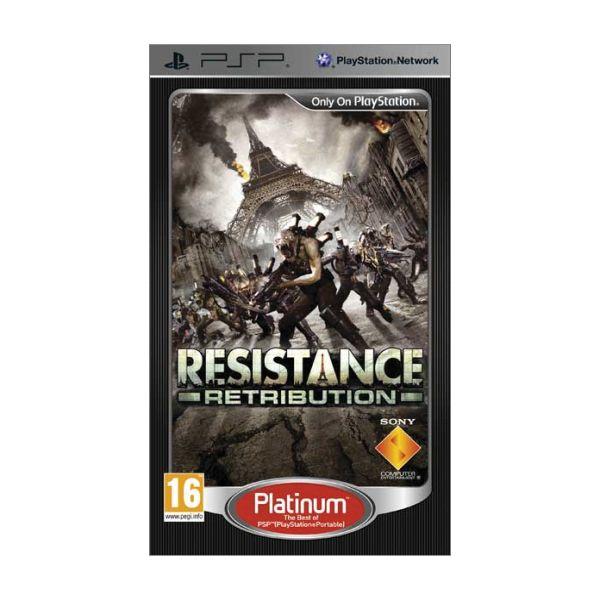 Resistance: Retribution [PSP] - BAZÁR (použitý tovar)
