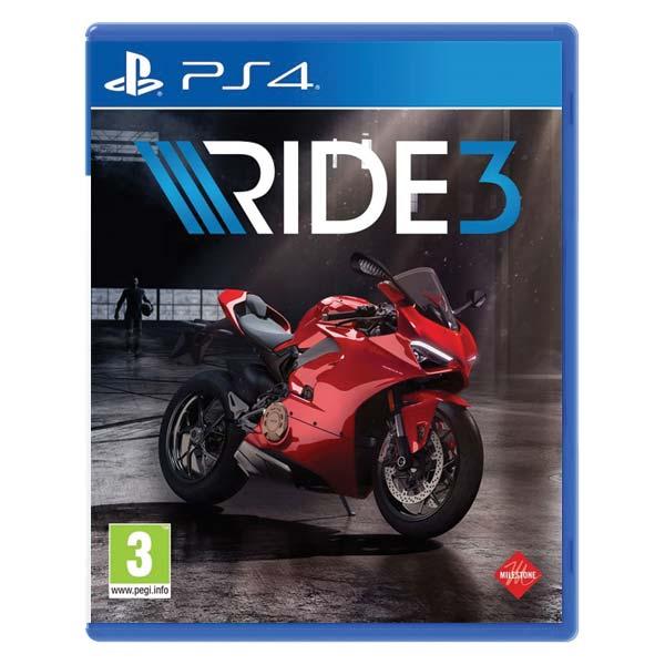 RIDE 3 [PS4] - BAZÁR (použitý tovar)