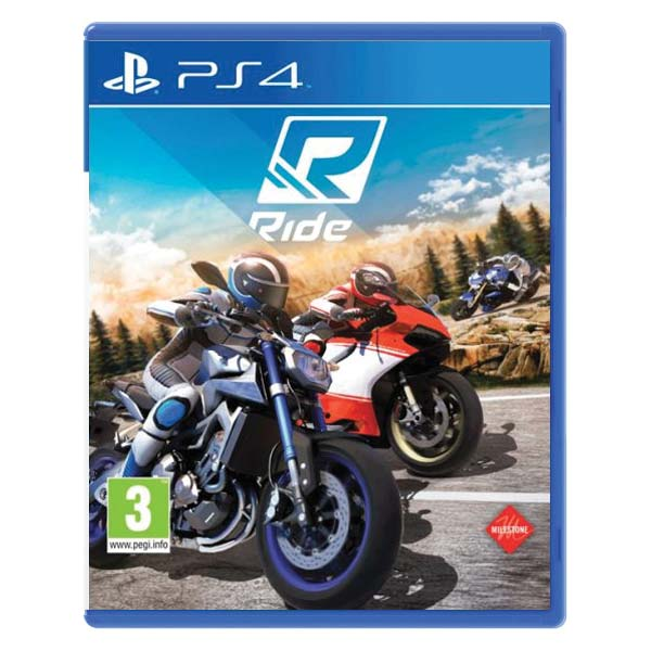 Ride [PS4] - BAZ�R (pou�it� tovar)