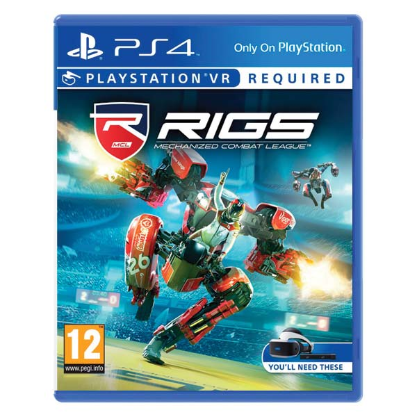 RIGS Mechanized Combat League [PS4] - BAZÁR (použitý tovar)