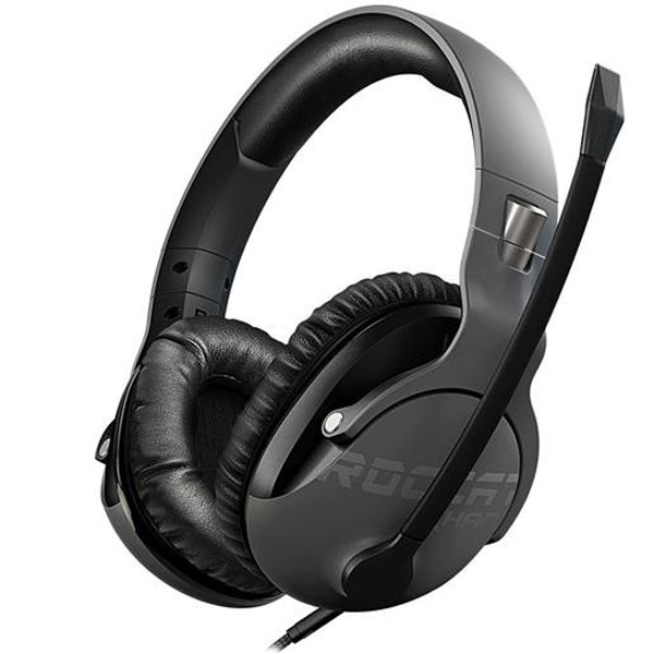 Roccat KHAN PRO - Competitive High Resolution Gaming Headset, grey