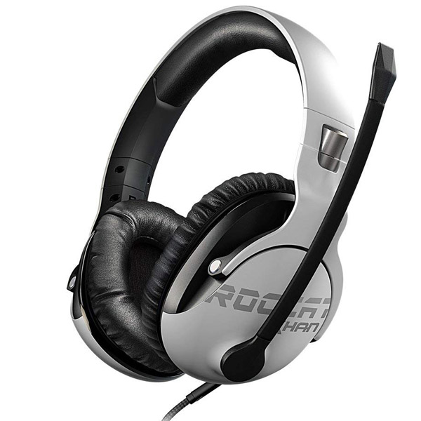 Roccat KHAN PRO - Competitive High Resolution Gaming Headset, white