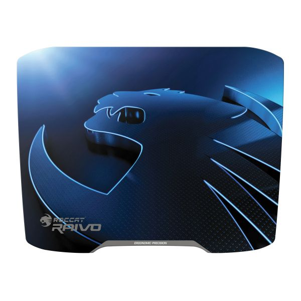 Roccat Raivo High Velocity Gaming Mousepad, lightning blue
