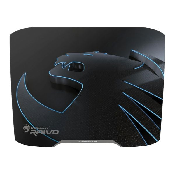 Roccat Raivo High Velocity Gaming Mousepad, stealth black