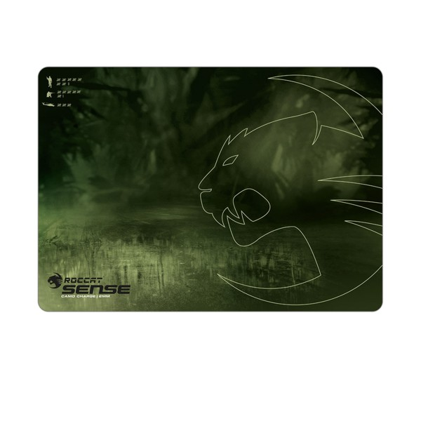 Roccat Sense Camo Charge 2mm - High Precision Gaming Mousepad