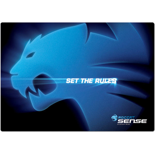 Roccat Sense High Precision Gaming Mousepad, glacier blue