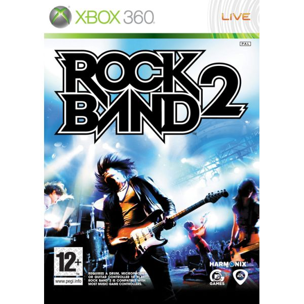 Rock Band 2 [XBOX 360] - BAZÁR (použitý tovar)