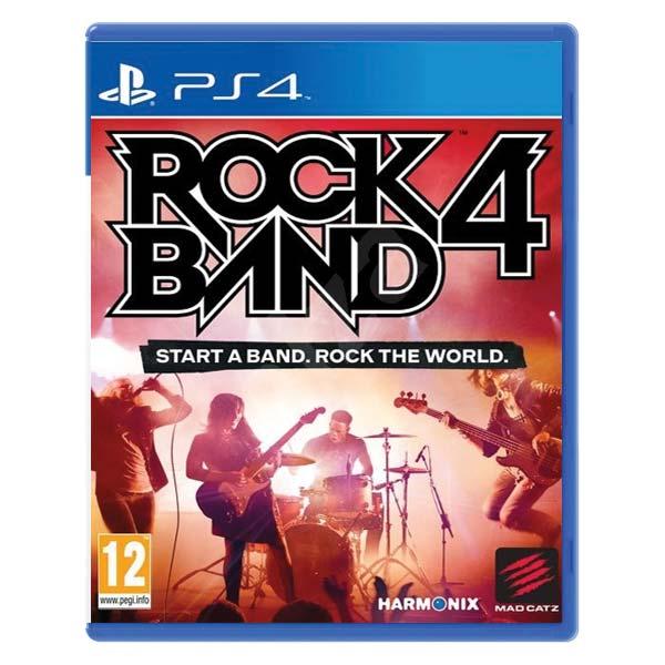 Rock Band 4  [PS4] - BAZÁR (použitý tovar)