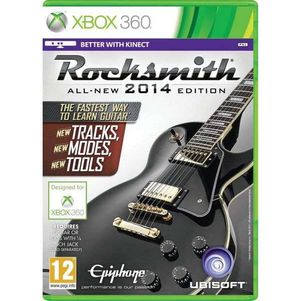 Rocksmith (All-New 2014 Edition) + Real Tone Cable XBOX 360