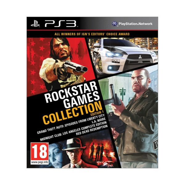 Rockstar Games Collection (Edition 1) PS3