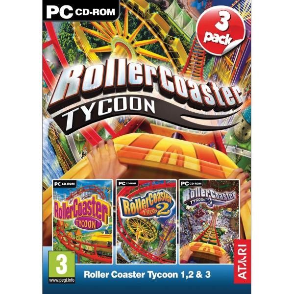 Rollercoaster Tycoon 1,2 & 3