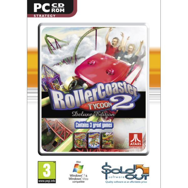RollerCoaster Tycoon 2 (Deluxe Edition)
