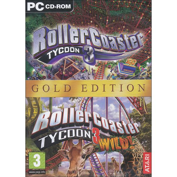 Rollercoaster Tycoon 3 (Gold Edition)