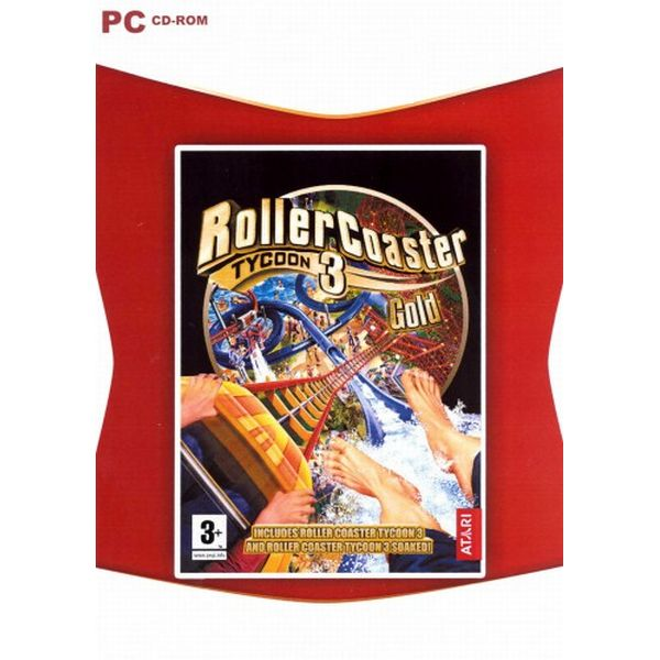 Rollercoaster Tycoon 3 Gold