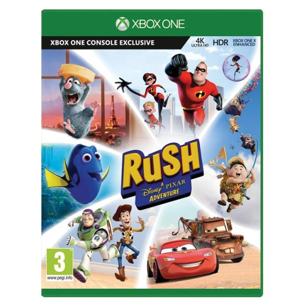 Rush: A Disney Pixar Adventure CZ