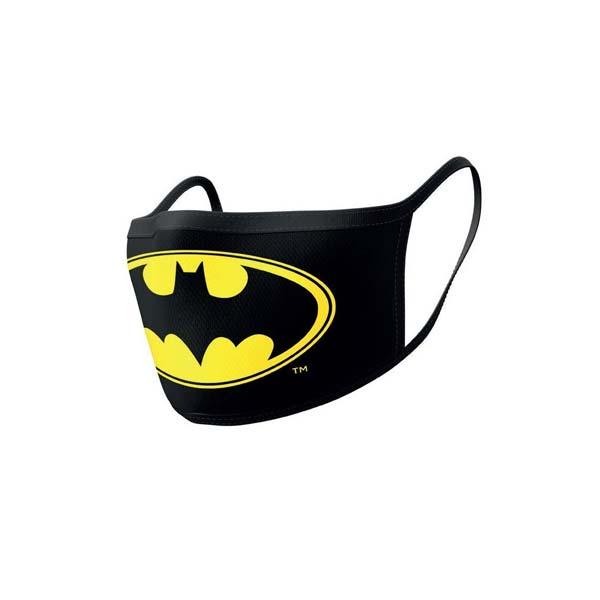 Rúško Batman Logo, Batman (dvojbalenie)