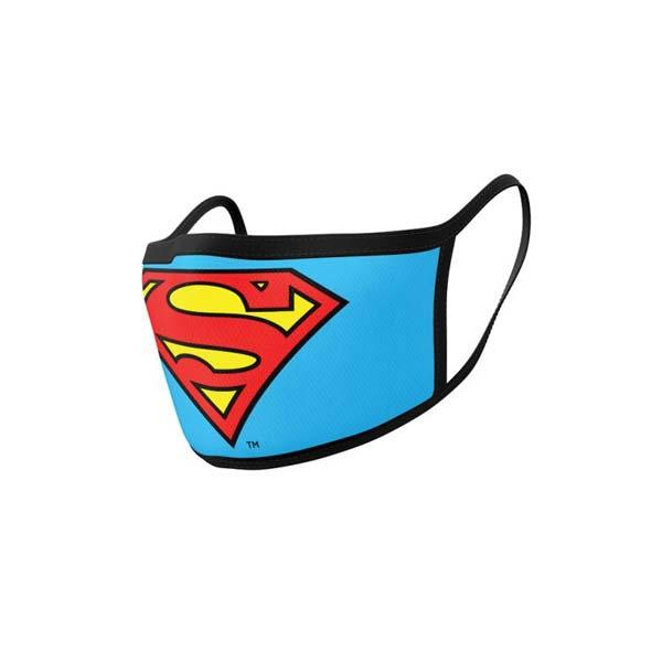 Rúško Superman Logo, Superman (dvojbalenie)